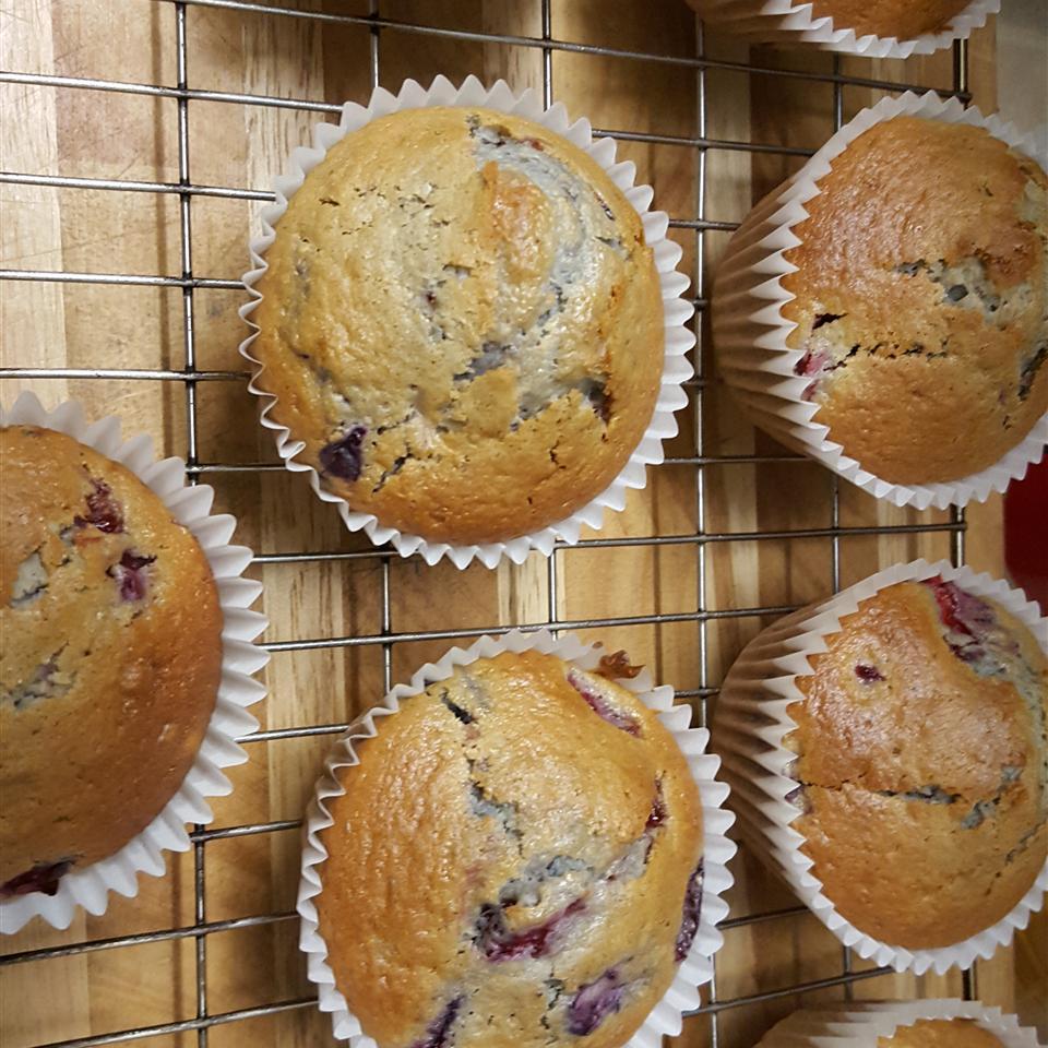 Strawberry-Blueberry Muffins Jennifer Pearce