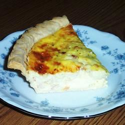 Spicy Edam Shrimp Quiche SUZZANNA