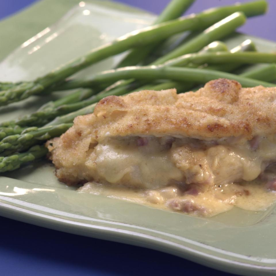 Ham-&-Cheese-Stuffed Chicken Breasts EatingWell Test Kitchen