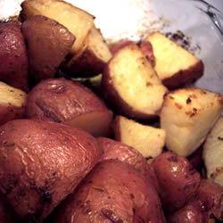 Lemon Horseradish New Potatoes Mia Rosaria