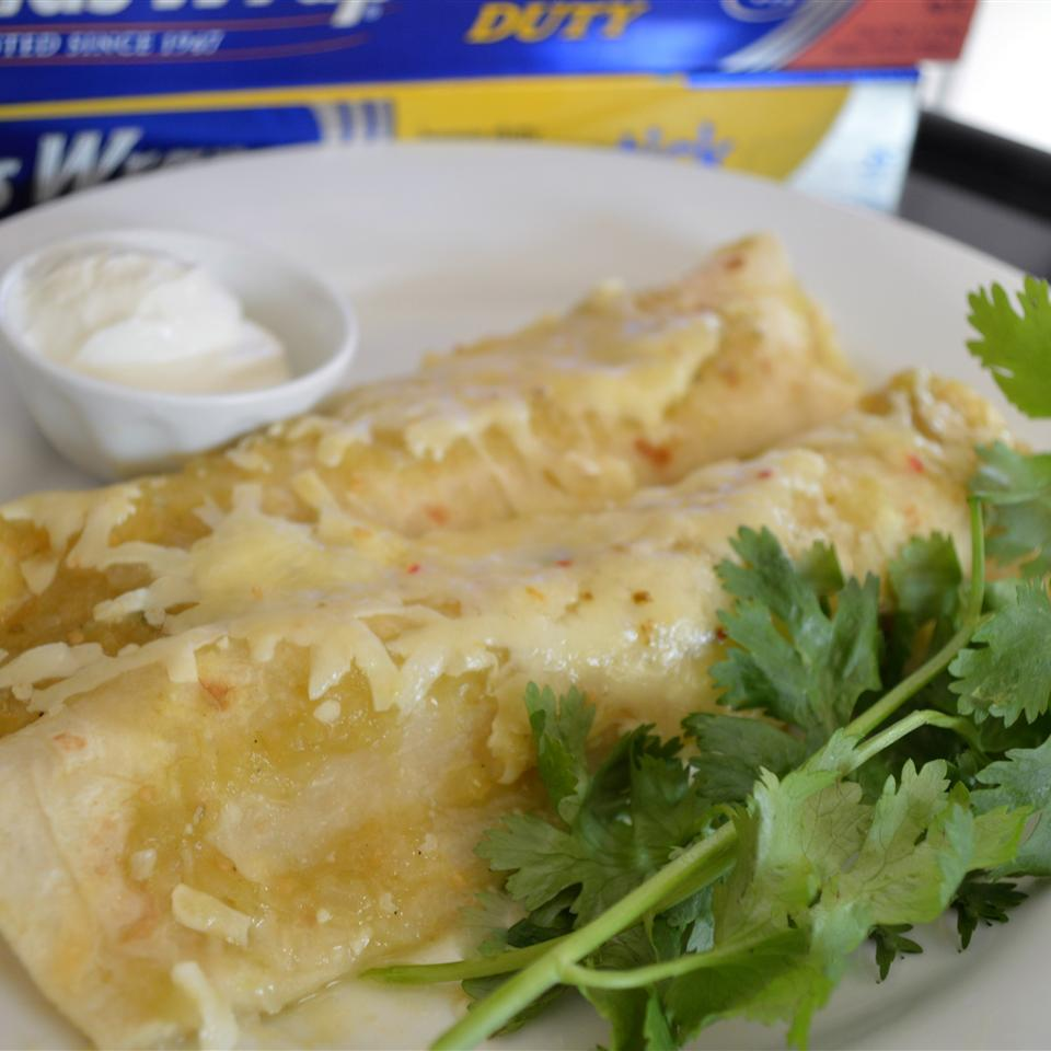 Creamy Chicken Enchiladas from Reynolds Wrap® Holiday Baker