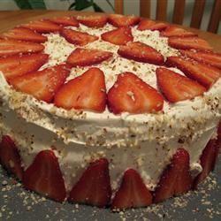 White Almond Wedding Cake AdamAnt