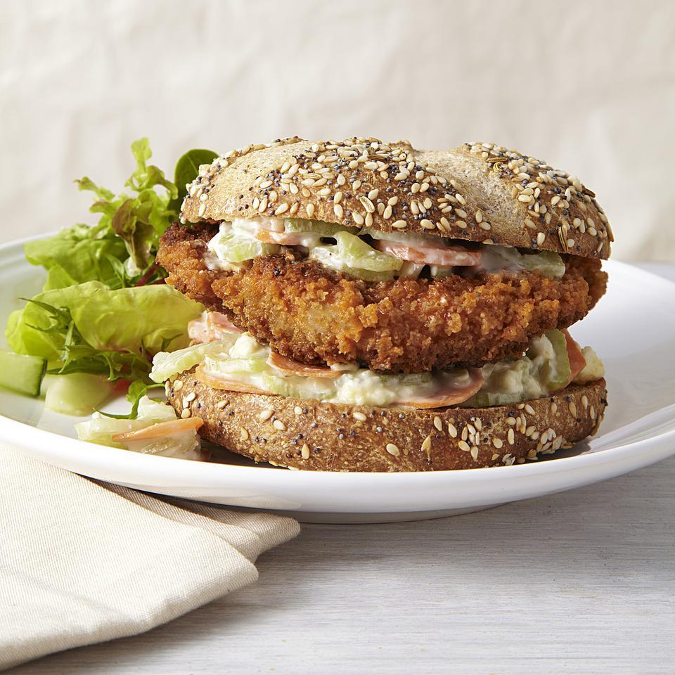 Buffalo Chicken Sandwich EatingWell Test Kitchen