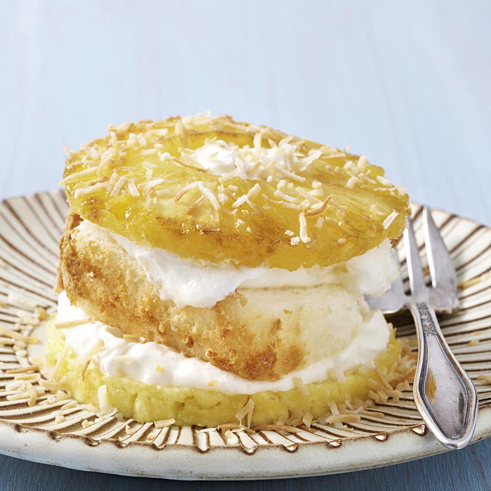 Pineapple & Coconut Napoleons EatingWell Test Kitchen