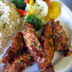 Thai Chicken Tenders