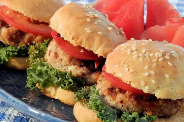 Natasha S Chicken Burgers Recipe Allrecipes