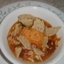 Spicy Chicken Soup Sarah Keller