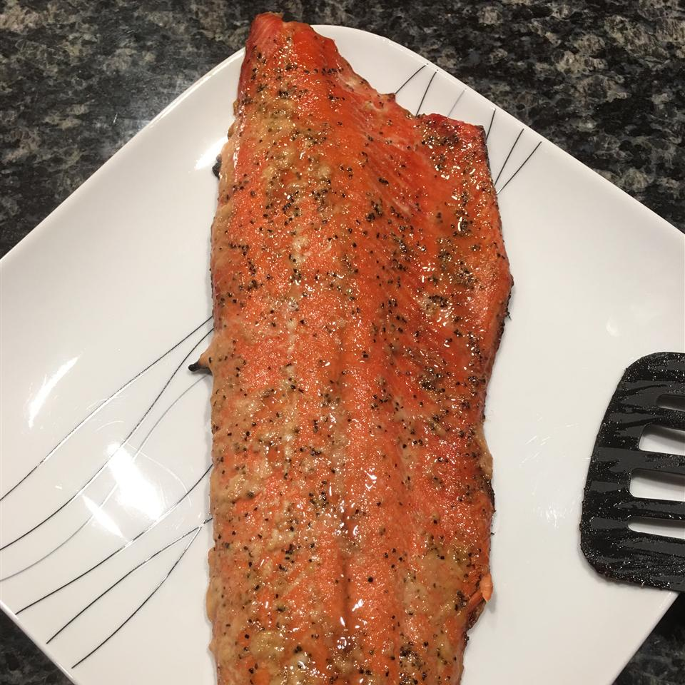 Sweet and Tangy Glazed Salmon John Faught