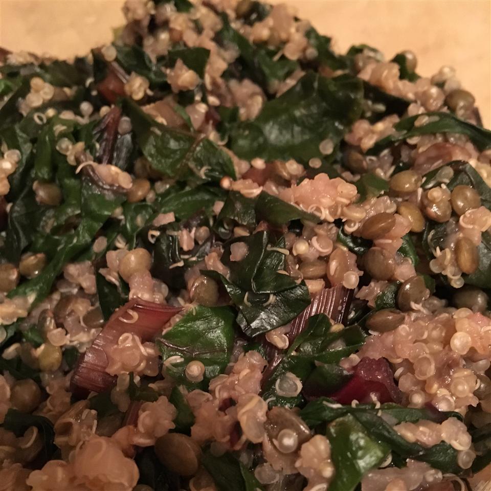 Quinoa Chard Pilaf Bianca