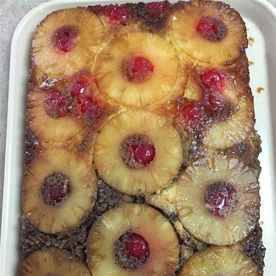 Easy Pineapple Upside Down Cake Shree