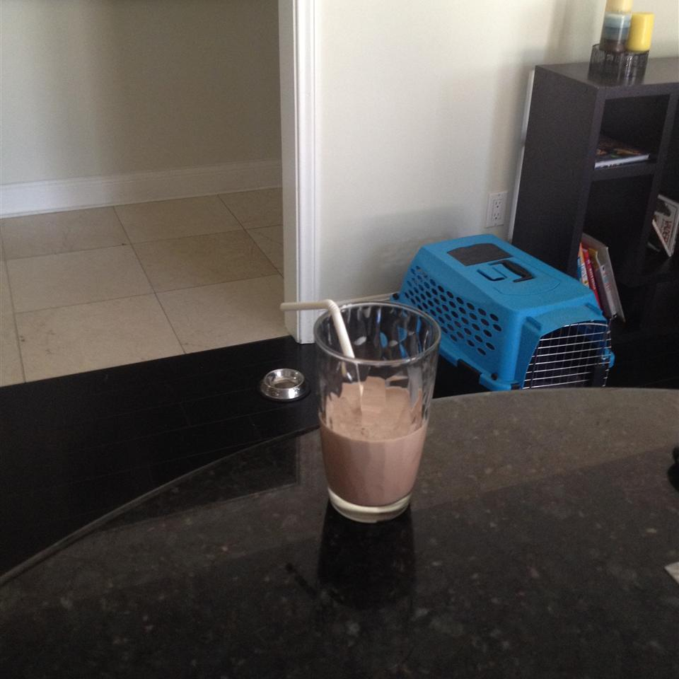 Delicious Chocolate Shake The 13 year old chef!