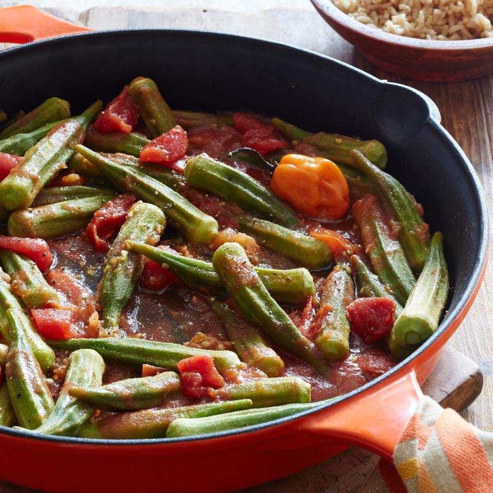 Spicy Stewed Okra & Tomatoes Jessica B. Harris