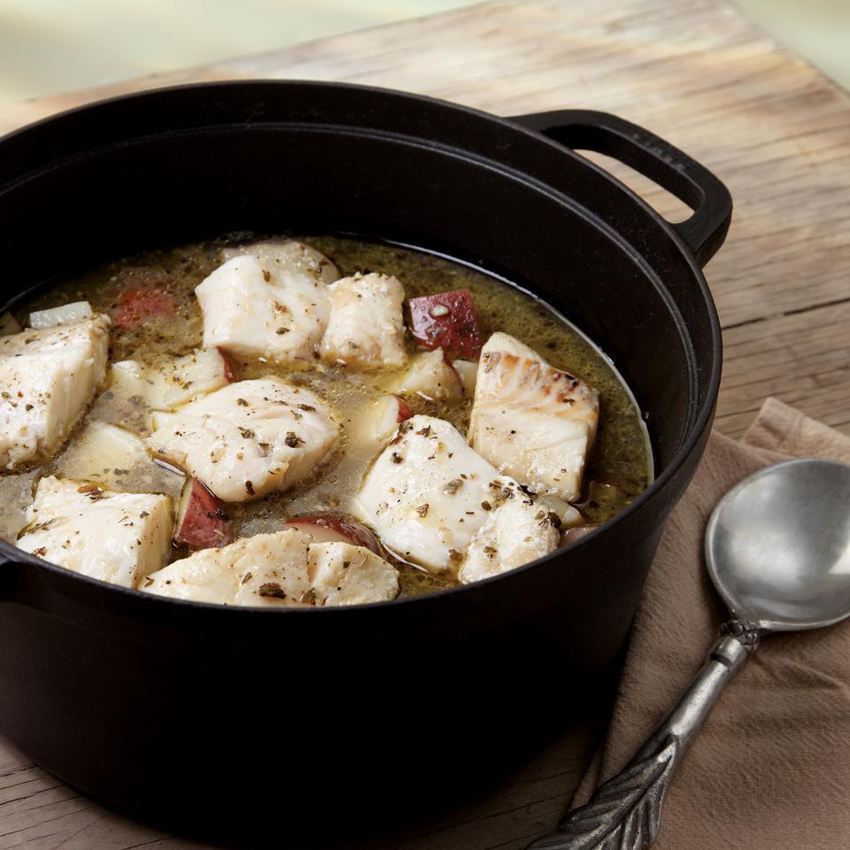 White Fish Stew (Bianco) James Chatto
