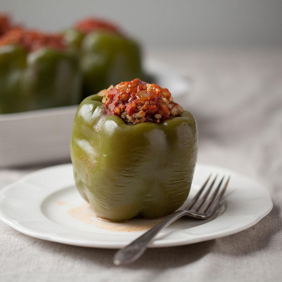 Stuffed Peppers EatingWell Test Kitchen