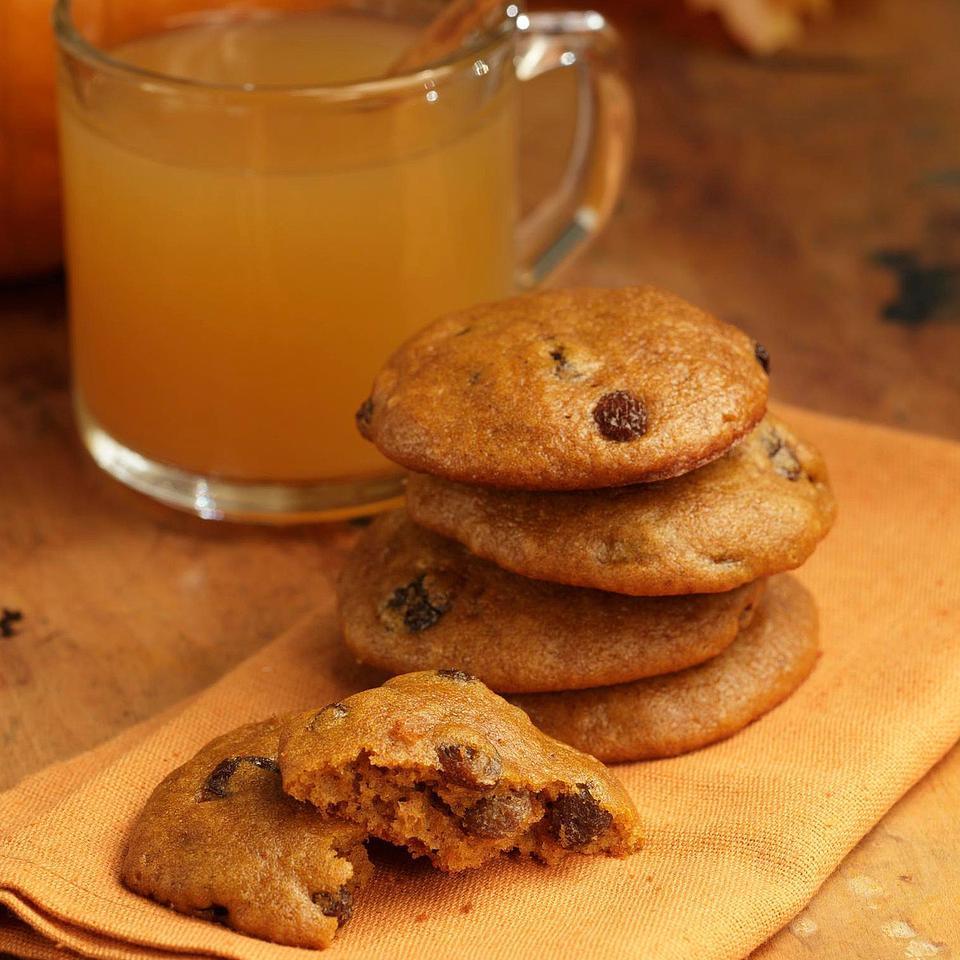 Spiced Pumpkin Cookies EatingWell Test Kitchen