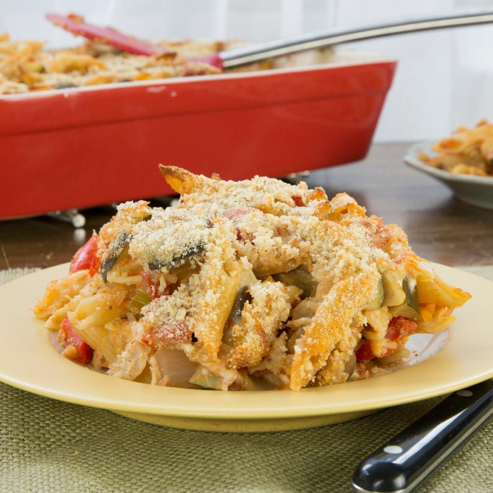 This Italian-inspired take on an American casserole is about as tasty as a one-dish meal can get.