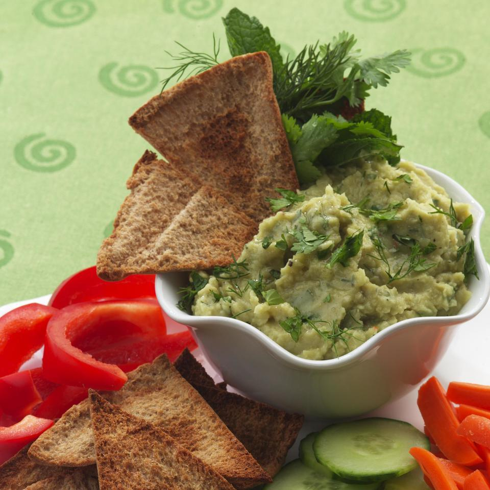 Lima Bean Spread with Cumin & Herbs EatingWell Test Kitchen