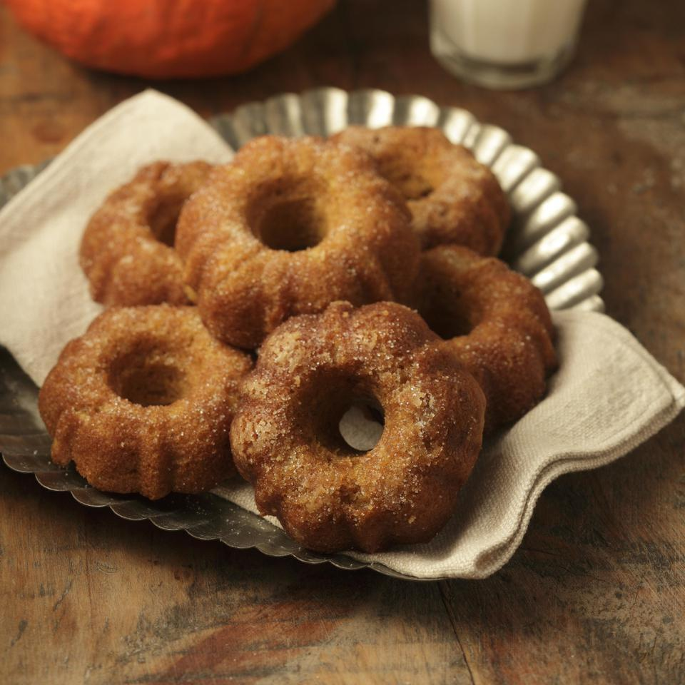 Pumpkin Doughnuts EatingWell Test Kitchen