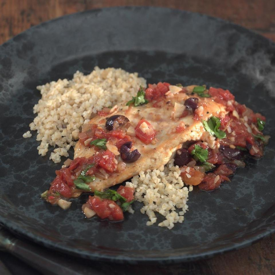 Provencal Chicken EatingWell Test Kitchen