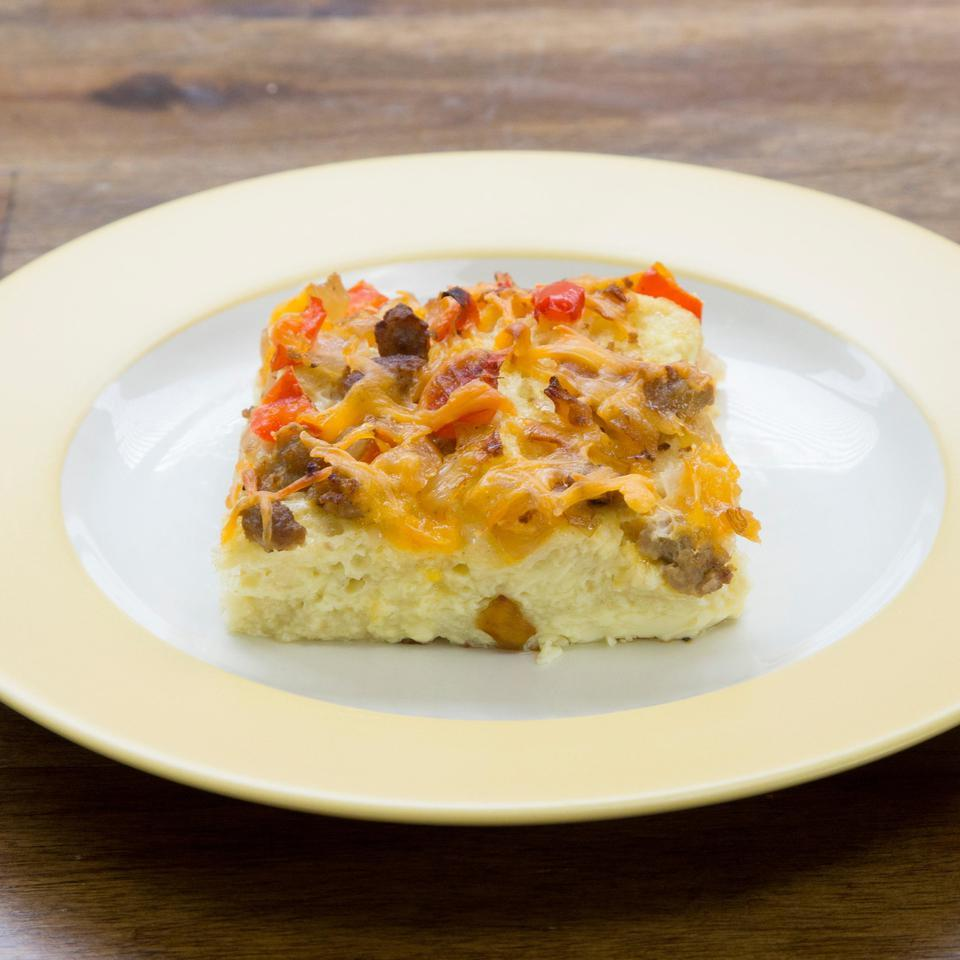 Egg & Sausage Casserole EatingWell Test Kitchen