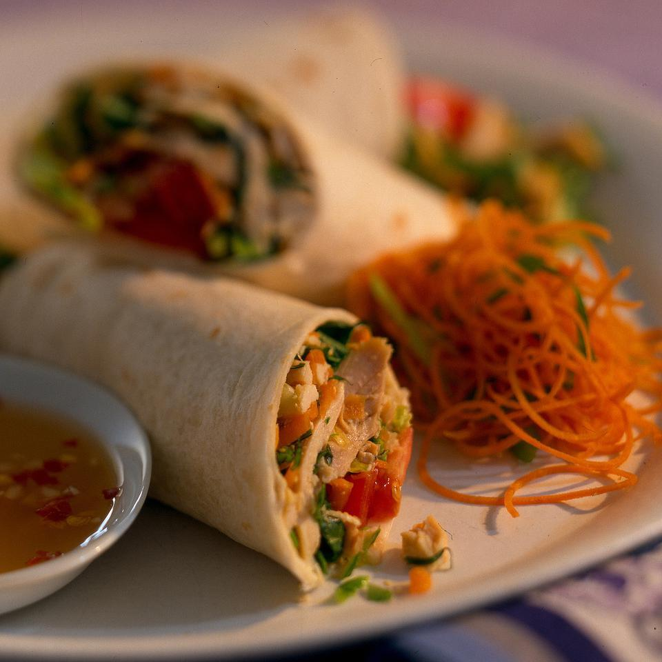 Chicken Salad Wraps Beth-Ann Bove