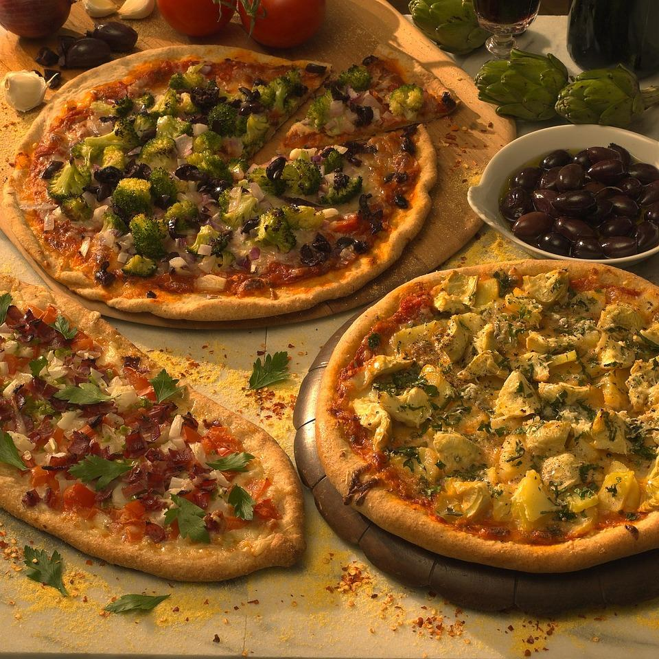 Italians usually get the credit for inventing pizza, but some people believe that Turkish pide (flatbreads with toppings) may have come first. This recipe is an adaptation of a pizza discovered in a street-side cafe in the Mediterranean coastal city of Antalya.