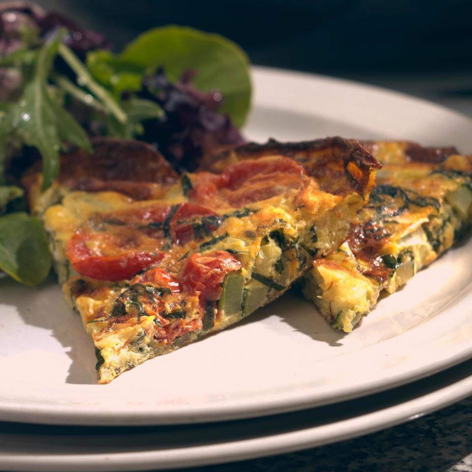 Zucchini Frittata EatingWell Test Kitchen