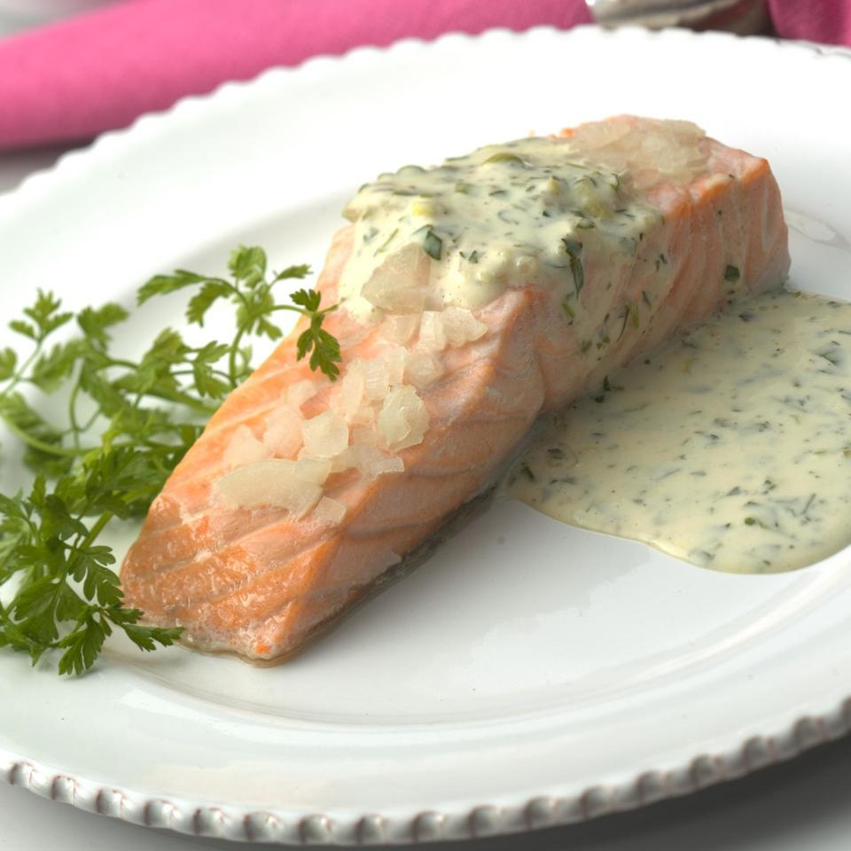 Oven-Poached Salmon Fillets Patsy Jamieson