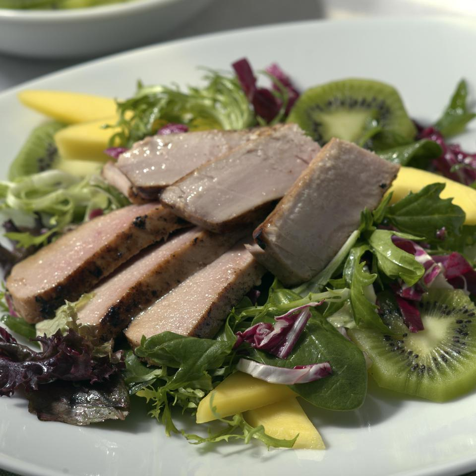 Fresh Tuna Salad with Tropical Fruits EatingWell Test Kitchen