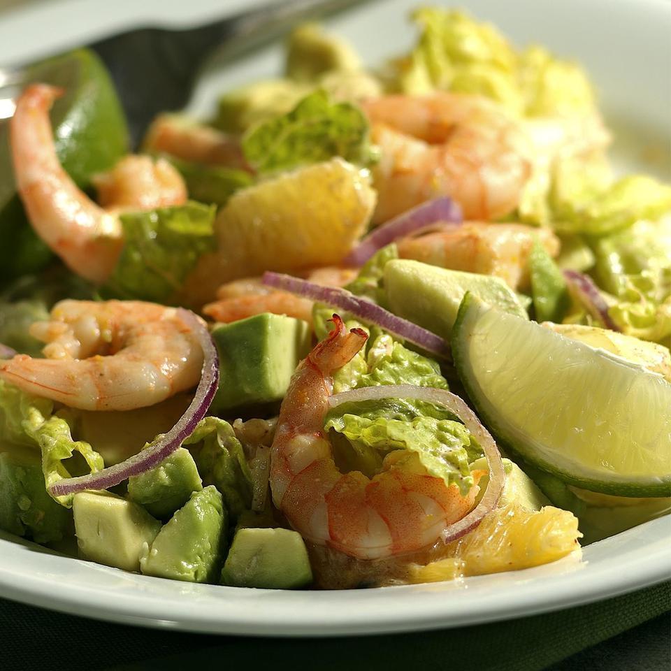 Margarita Shrimp Salad EatingWell Test Kitchen