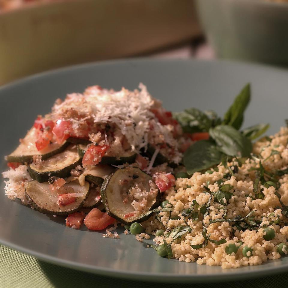 Quick Herbed Couscous & Peas Ken Haedrich