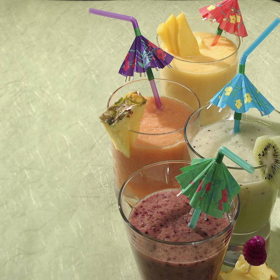Melon-Ginger Smoothie EatingWell Test Kitchen