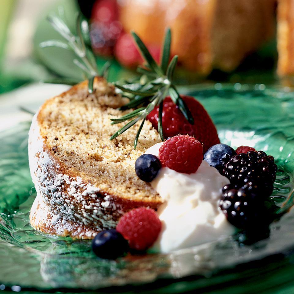Walnut Cake with a Hint of Rosemary Patsy Jamieson