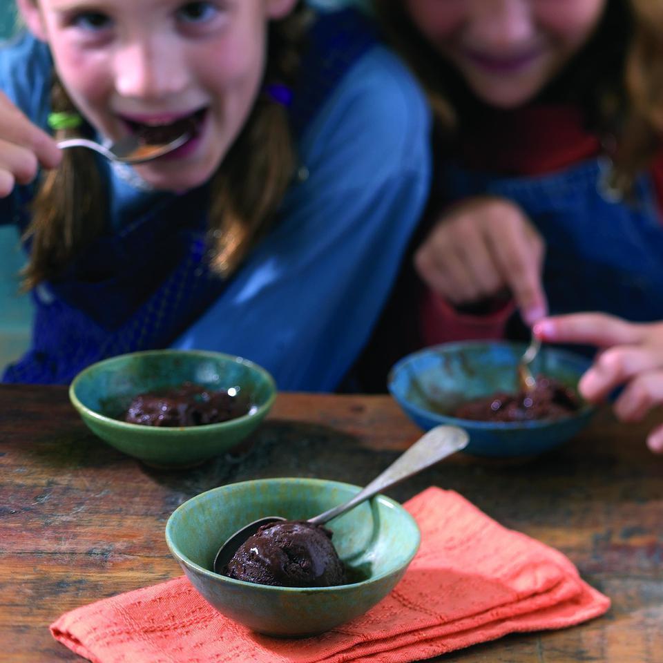 Chocolate-Earl Grey Sorbet Patsy Jamieson