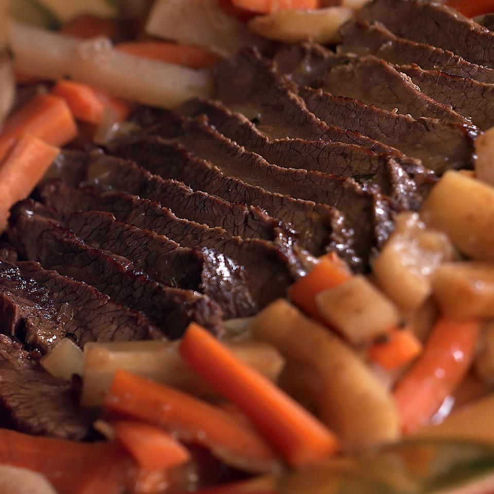 Braised Brisket & Roots EatingWell Test Kitchen