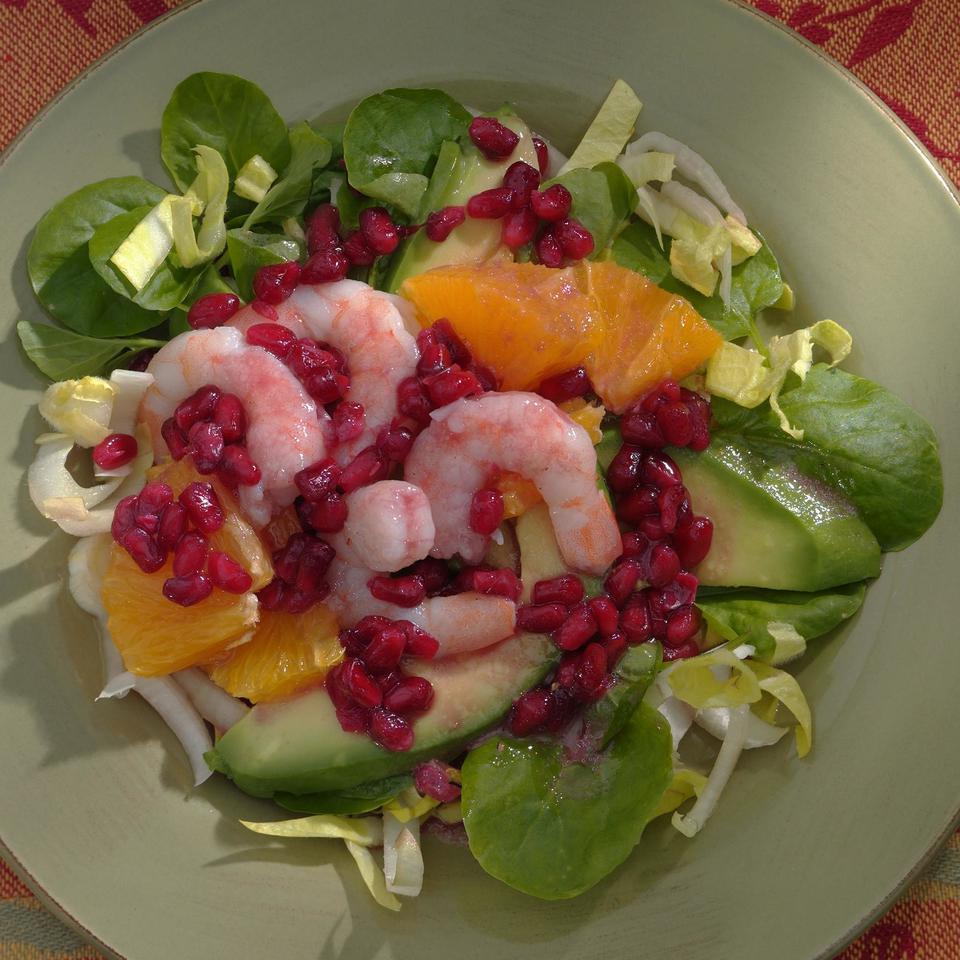Endive & Pomegranate Salad Kitty Morse