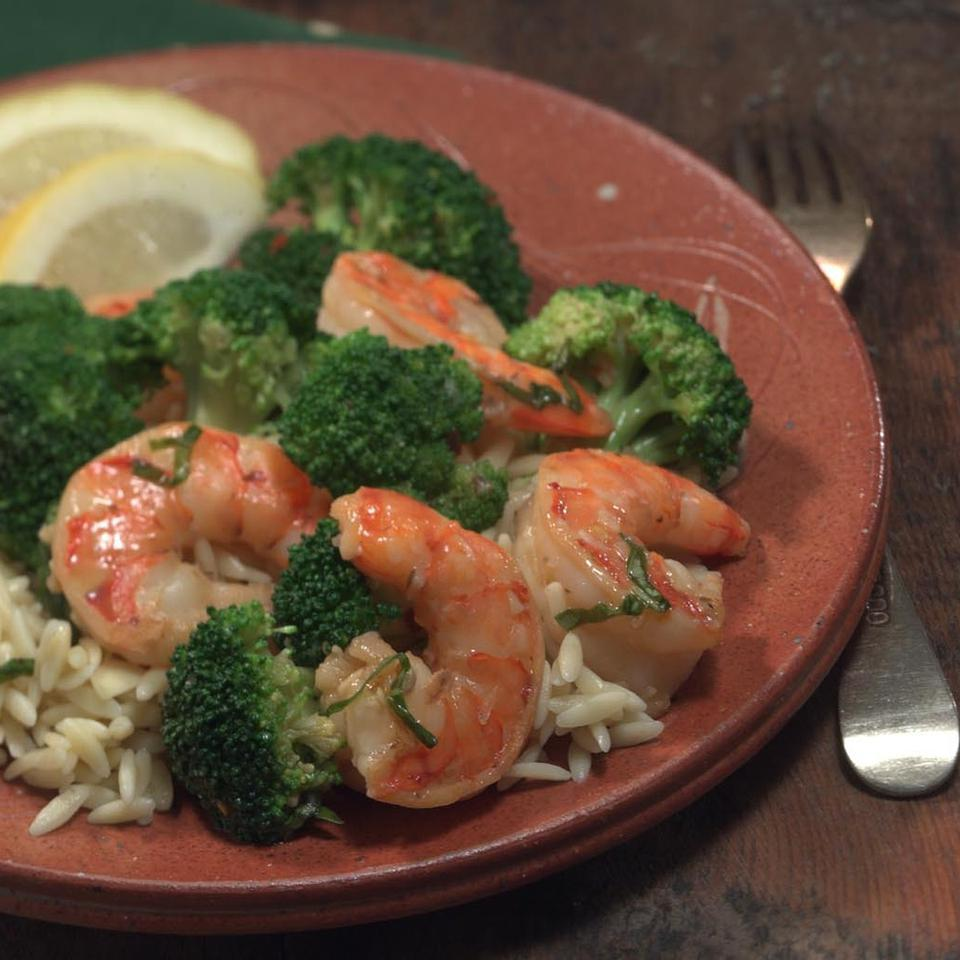 Shrimp with Broccoli EatingWell Test Kitchen
