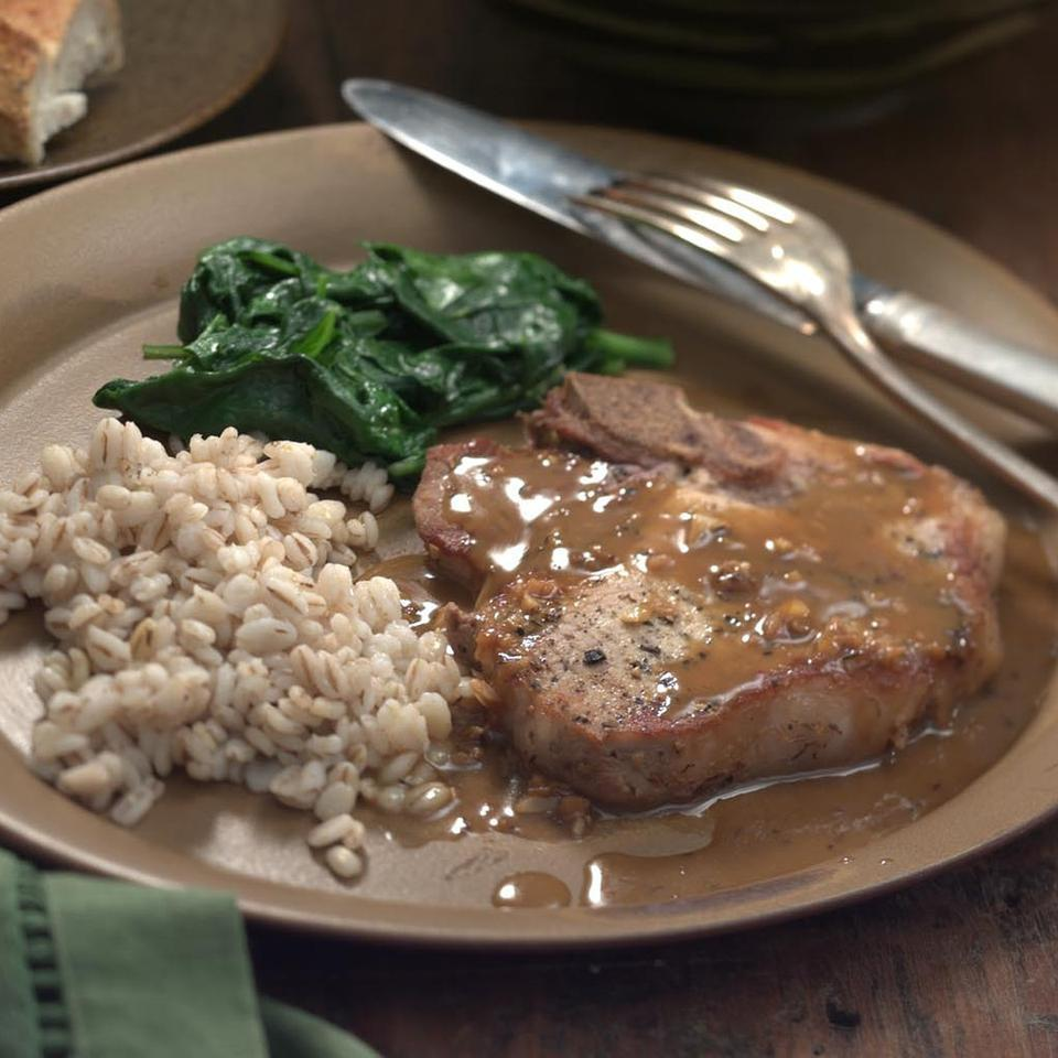 Pork Chops with Orange-Soy Sauce EatingWell Test Kitchen