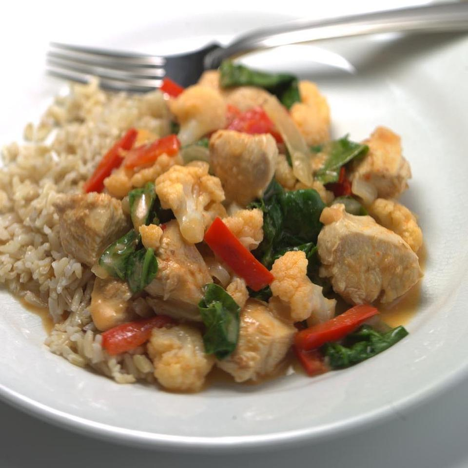 Quick Thai Chicken & Vegetable Curry EatingWell Test Kitchen