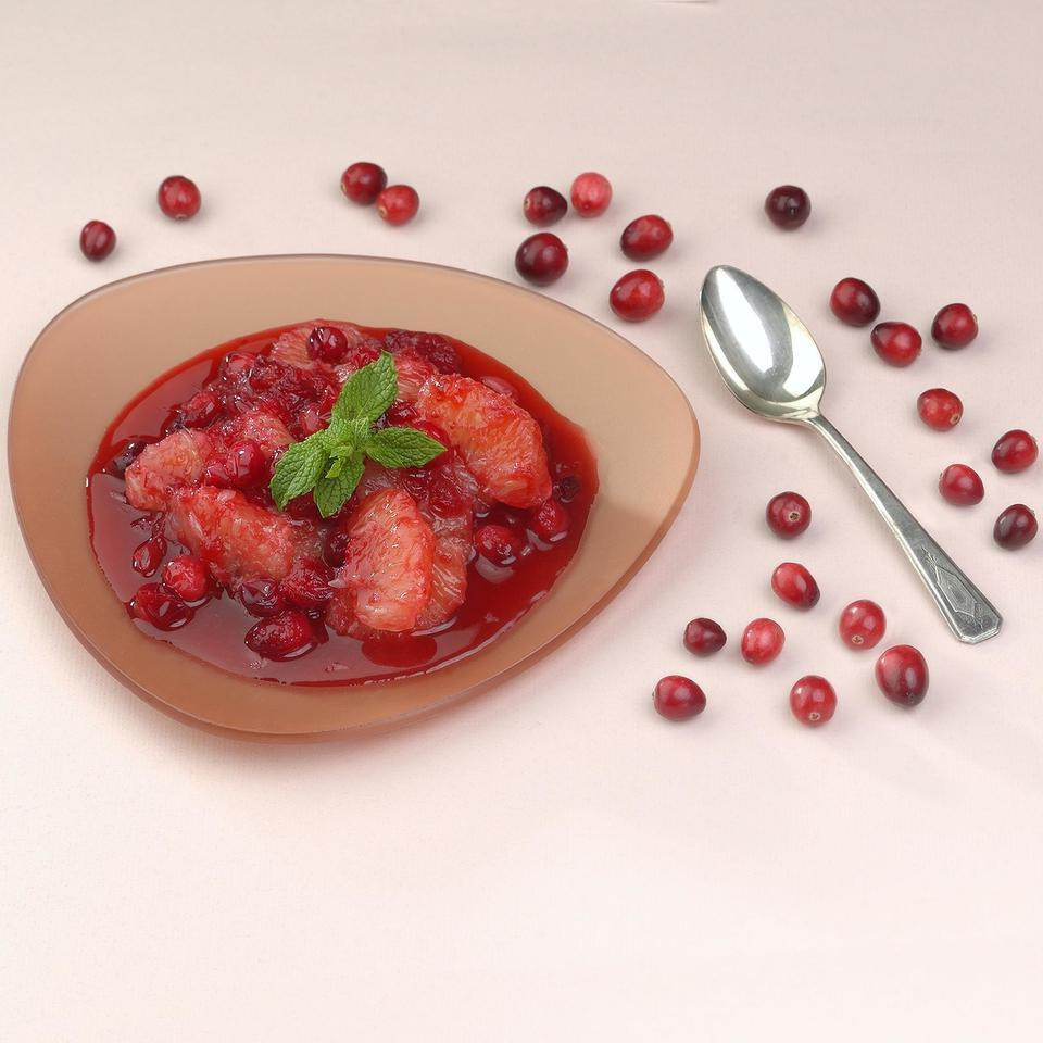 Cranberry & Ruby Grapefruit Compote
