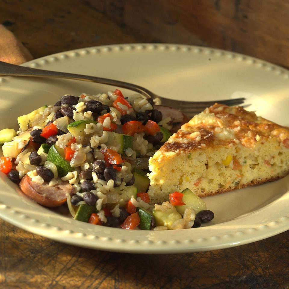Vegetable & Sausage Skillet Supper Chuck Allen