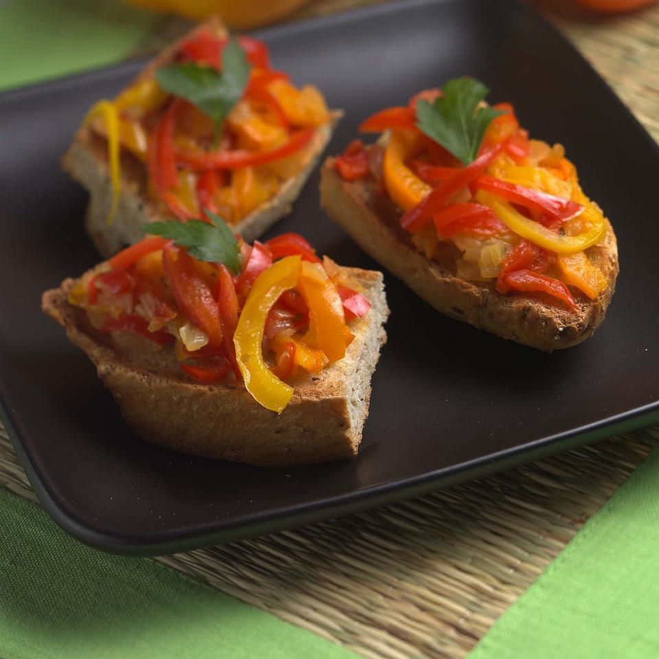 Rainbow Pepper Saute EatingWell Test Kitchen