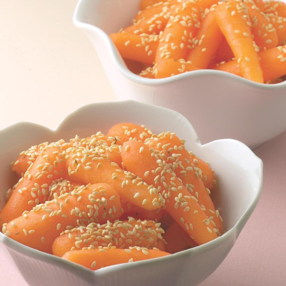 Sesame Carrots EatingWell Test Kitchen