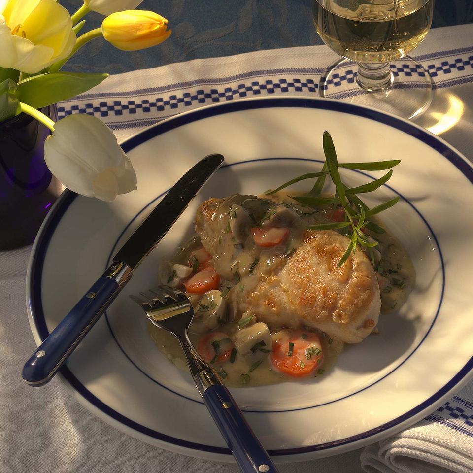 Chicken Fricassee with Tarragon Victoria Abbott Riccardi