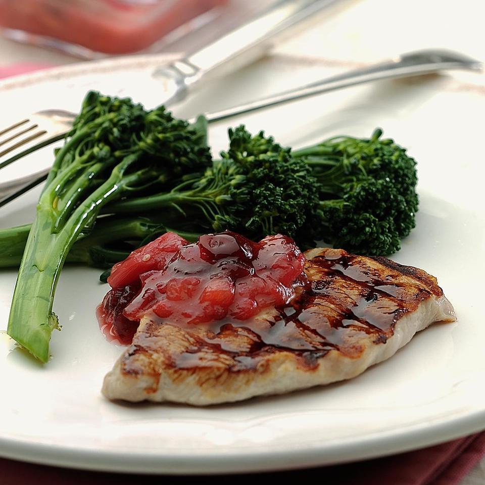 Rhubarb Chutney EatingWell Test Kitchen