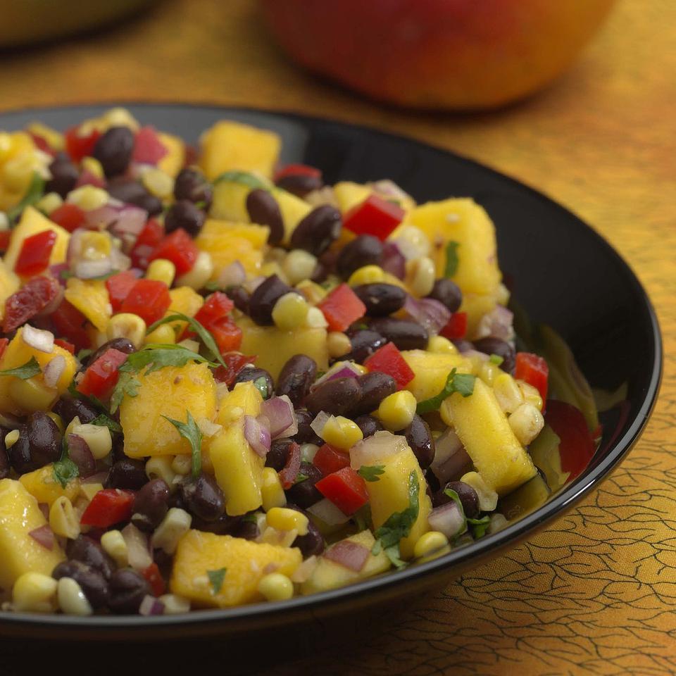 Roasted Corn, Black Bean & Mango Salad Kathy Farrell-Kingsley