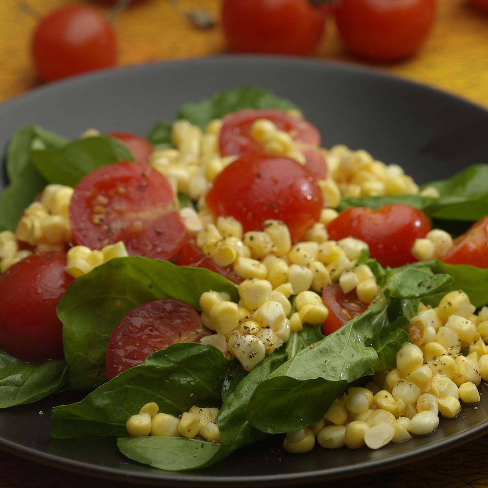 Corn, Arugula & Tomato Salad Kathy Farrell-Kingsley