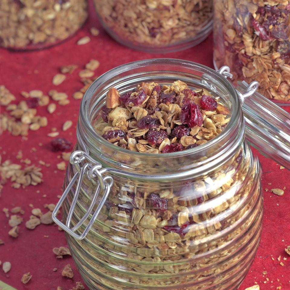 Cranberry-Almond Granola EatingWell Test Kitchen