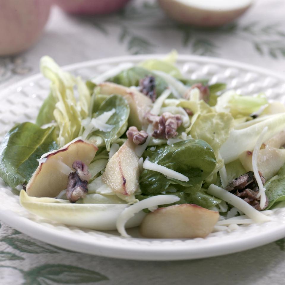 Roasted Apple & Cheddar Salad Kathy Farrell-Kingsley