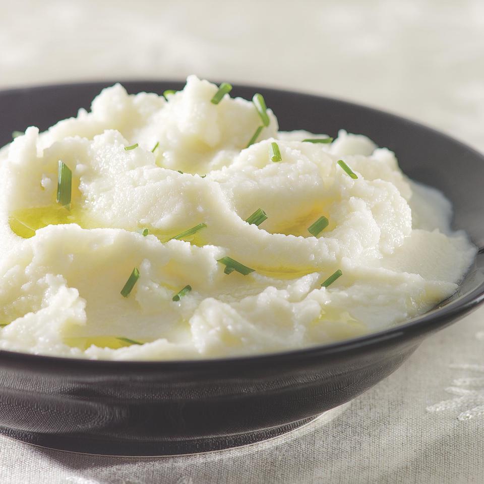 Creamy Mashed Cauliflower EatingWell Test Kitchen